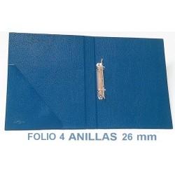 CARPETA PLÁSTICO SARO A4 2 ANILLAS