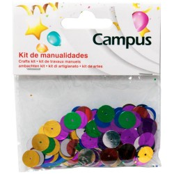 SET MANUALIDADES CAMPUS CIRCULOS 12MM