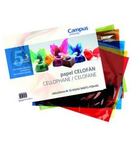 Bloc Papel Celofán Campus