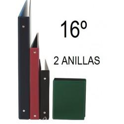 CARPETA PLÁSTICO 16º 2 ANILLAS