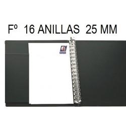 CARPETA PLÁSTICO Fº 16A 25 mm