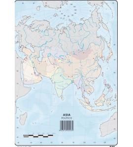 Mapas Asia Político