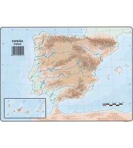 Mapas España Físico