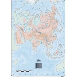 Mapas Asia Fisico