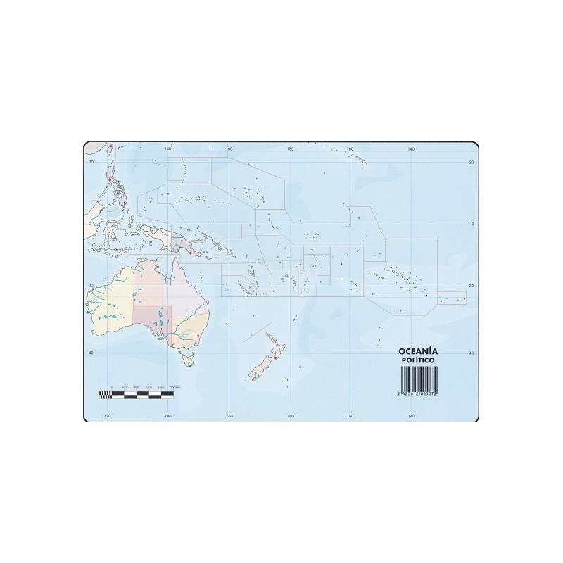 Mapas Oceania Politico