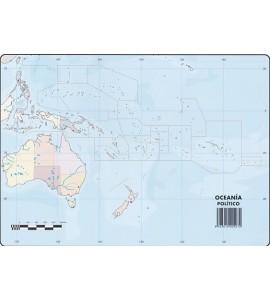 Mapas Oceanía Político