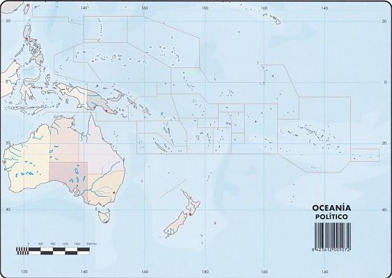 Mapas Oceana Poltico