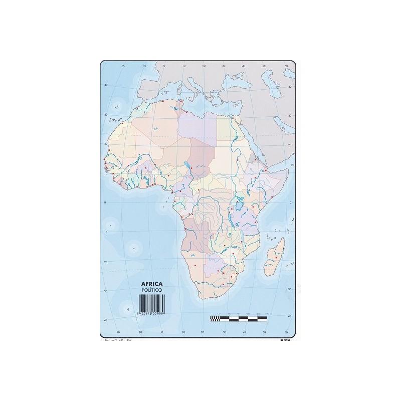 Mapas Africa Politico