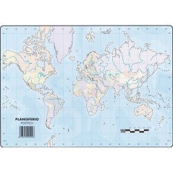 Mapas Planisferio Político