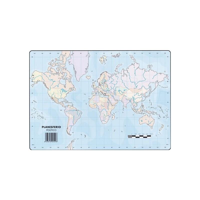 Mapas Planisferio Politico