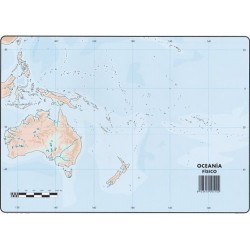 Mapas Oceania Fisico