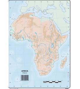 Mapas África Físico