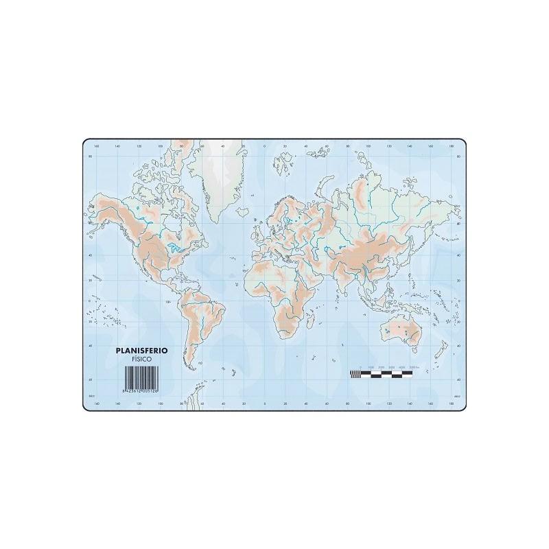 Mapas Planisferio Fisico