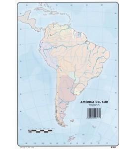 Mapas América del Sur Político