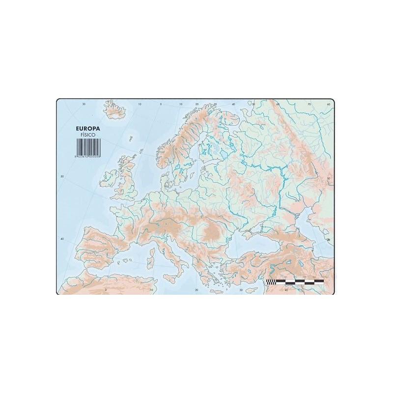 Mapa Mudo De Europa Politico.Mapas Europa Fisico