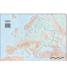 Mapas Europa Físico