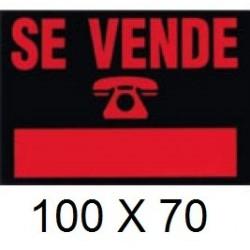 CARTEL SE VENDE 100 X 70