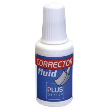 Corrector Frasco Plus 20ml Esponja