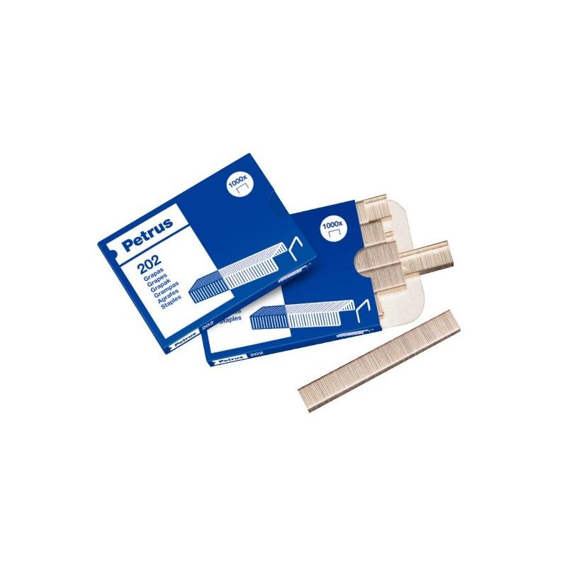Grapas Petrus Bambina 202 Packete 20 cajas
