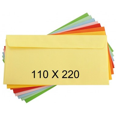 SOBRES MK 110X220 SURTIDO 20un