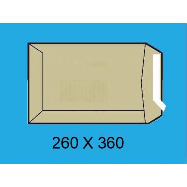 BOLSA 260X360 K-108100 KRAFT P/10