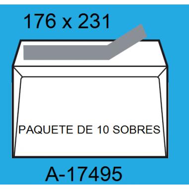 SOBRES 176X231 A-17495 P/10