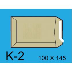 BOLSA 100X145 K-2 KRAFT C/1000
