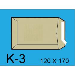 BOLSA 120X170 K-3 KRAFT C/1000