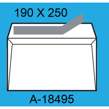 SOBRES 190X250 A-18495 C/250