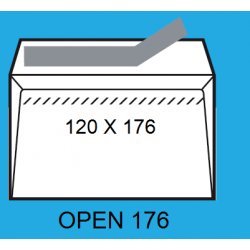 SOBRES 120X176 OPEN 176 C/500