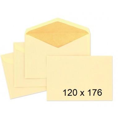 SOBRES 120X176 12176/6 CAÑA C/500