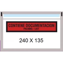 SOBRES 240X140 DOCUFIX C/250
