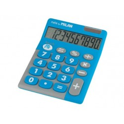 CALCULADORA 10 DI. TOUCH DUO AZUL