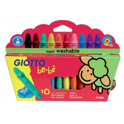 BEBE GIOTTO SUPER CERAS 10 COLORES